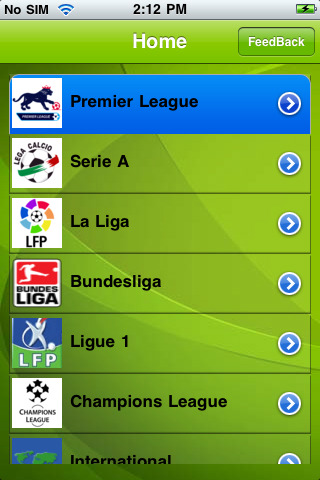 FootyRoom App for iPad  iPhone  Sports  app by Chase