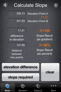 Slope Calculator 1.2 App for iPad, iPhone - Productivity ...