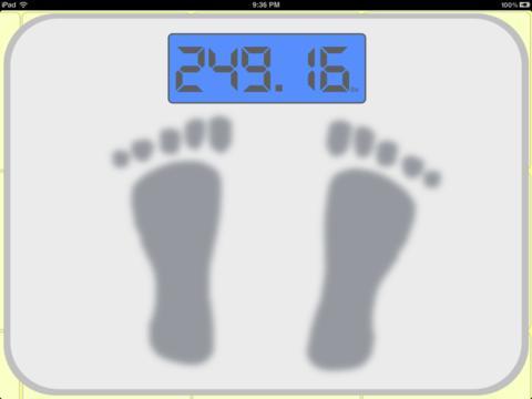 Fake Bathroom Scale App for iPad  iPhone  Healthcare