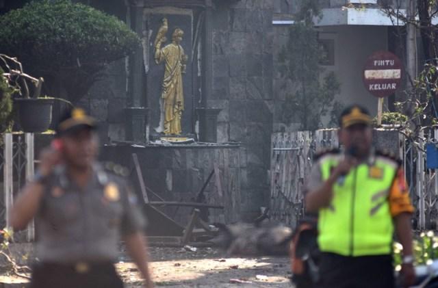 Image result for tragedi bom surabaya