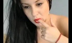 Busty Romanian Camwhore Rubbing Her Pussy   - combocams.com 20677641