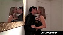 Sex in Europe! Busty MILF Julia Ann Gets Fucked in a Foreign Country!