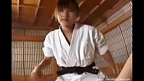 Bokep Karate master pegging his ass