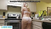 big butt sexy blonde