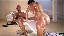 Anal Sex With Oiled All Up Horny Big Butt Girl (franceska jaimes) movie-12