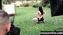Young innocent lesbian has her tight little flower penetrated 26