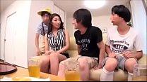 Bokep Japanese mom threesome
