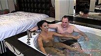 Bokep Goddess Tangent Hot Tub Headscissors