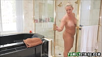 Young Blonde Teen Stepdaughter Blair Williams Fucked By Stepdad In The Bathroom