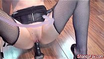 Kinky Canadian Milf Shanda Fay watches herself cum in the mirror while playing with big black toy! See the full video and more at Shanda's official site! See her live too!