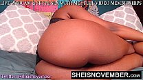 Sheisnovember Black Pussy Webcam Babe