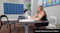 Bokep Hot for Teacher? Tutor, Carmen Valentina, gives her big black cock student a fantasy fucking he'll never forget in this interracial mind blowing clip! Full Video & Carmen Live @ CarmenValentina.com!