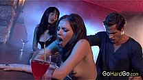Missy Stone sucking cock at the club porn