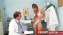 hot rachel evans examined by doctor