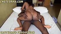 Innocent shy Nigerian babe loves riding big dick