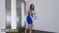 BANGROS - Teen Riley Reid Gets Caught By Step-Cousing Sneaking In Late, Sucks Dick For Mercy