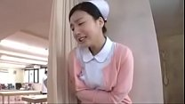 Japanese nurse fucked by horny patients