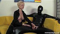 Bokep Dominant Granny Dominates Her Slave