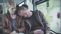 blonde molested by fake sleeper on bus