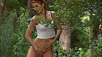 Bokep Nikolette spying on sex in the woods
