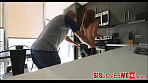 POV Blowjob Stepsister Demi Lopez And Her Horny Stepbrother