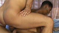Interracial anal foursome