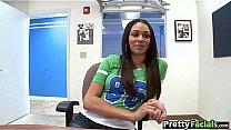 Celebrity porn girl gets a facial Bethany Benz 1.1