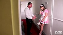 Maid's Double Penetration Reception