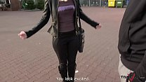 Horny Czech Redhead is Moaning on the Hammer in the Pick Up Van