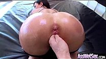(dollie darko) Big Butt Girl Get Oiled And Hard Deep Anal Nailed clip-12