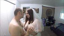 Slutty Bride Gets Plowed Minutes Before Wedding