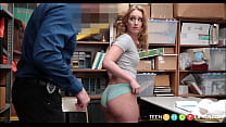 Sexy Young Blonde PAWG Caught Shoplifting Fucked By Security Officer