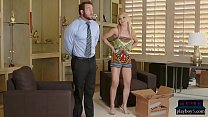 MILF wife gets back at her cheating husband with his friend