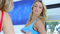 Brazzers - Two hot blondes lesbians have some fun