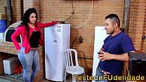 Bokep Morena cavala seduzindo técnico de tv casado
