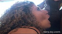 Bokep BBC slut Sara Jay gets her wet pussy fucked and filled with a hung black guys cum! Exclusive cream pie video from SaraJay.com
