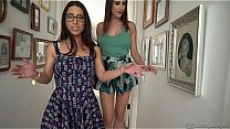 Lesbian Fingerfuck - Serena Blair and Ashley Adams