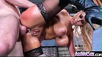 Anal Hardcore Sex With Big Round Oiled Ass Slut Girl (Bridgette B) clip-12