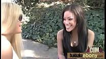 Ebony gangbanged interracial 15