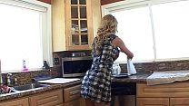 Stunning blonde housewife Cherie DeVille's hobby is seducing young babes like Holly Michaels