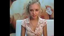 Gorgeous Young Blonde Strip Cam- FreePremiumCams.com