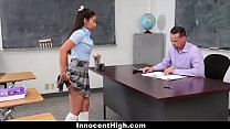 Asian student fucked doggy style by teacher