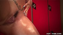 Oiled Up Crazy Squirting Slut