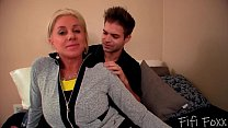 Blonde Cougar Wife Cheats on Husband