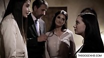 Bokep Stepdaughter group sex