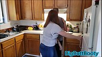 Big Booty Friends Fuck Their Husbands Before Dinner