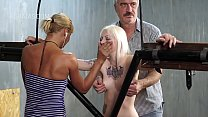 Rough punishment for the slave