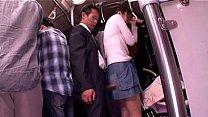 Train fucking Japanese groped