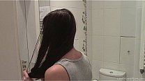 Up Skirt Camera Recording Of Girl In Bathroom