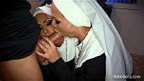 Nuns Nikki Benz and Jessica Jaymes Get Fucked By A Priest?!?